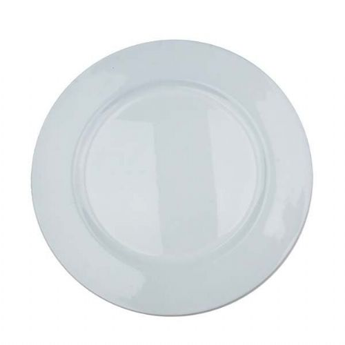 Beautiful Charger Plate / Underplates 33cm - WHITE